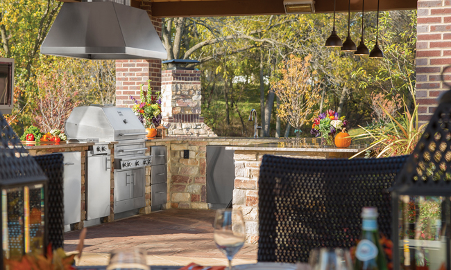 Enjoy Your Outdoor Kitchen All Year Long