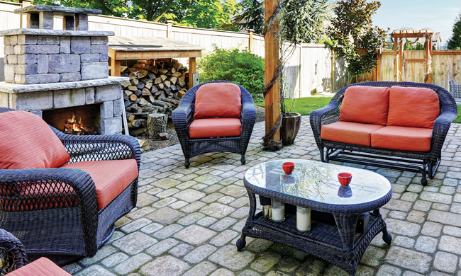 Add Life to Outdoor Spaces