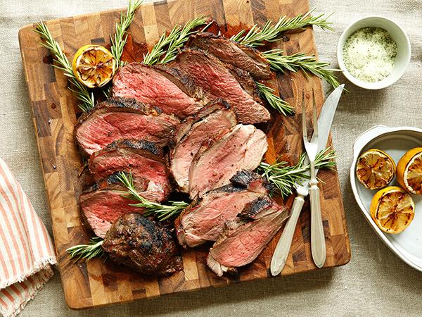 how to prepare butterflied leg of lamb