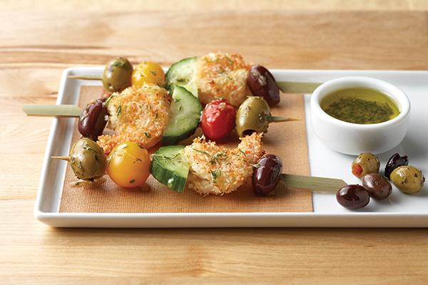 Las aceitunas y el aceite de oliva le dan sabor a las cenas informales