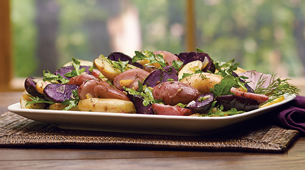 Fingerling Potato Salad Image with Recipe