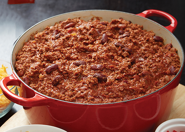 Chili Image With Recipe