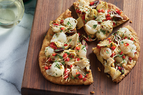 Recipe: Herbed Mediterranean Flatbread | Family Life Tips