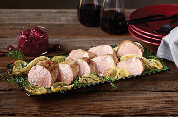Pork Tenderloin and Fennel