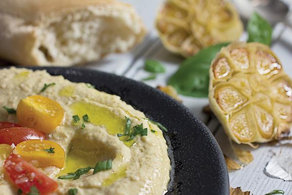 Bruschetta-Topped Hummus Image