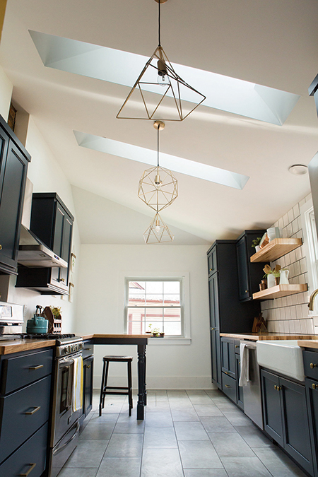 Kitchen spring light and bright Subway tile #liveinmt