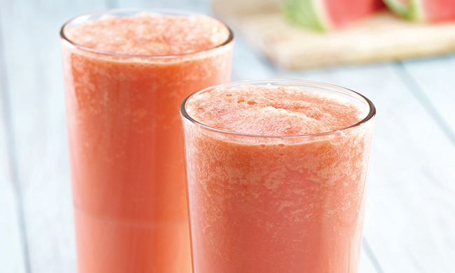 Cool Nutritious Watermelon Collagen Creamsicle