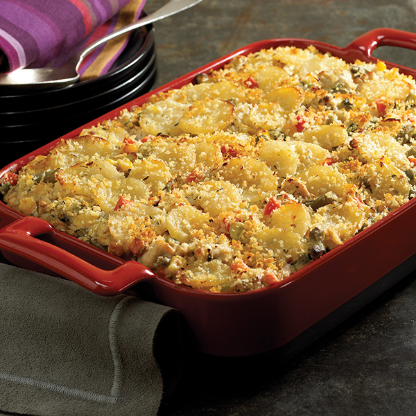 Potato, Turkey and Veggie Casserole Recipe