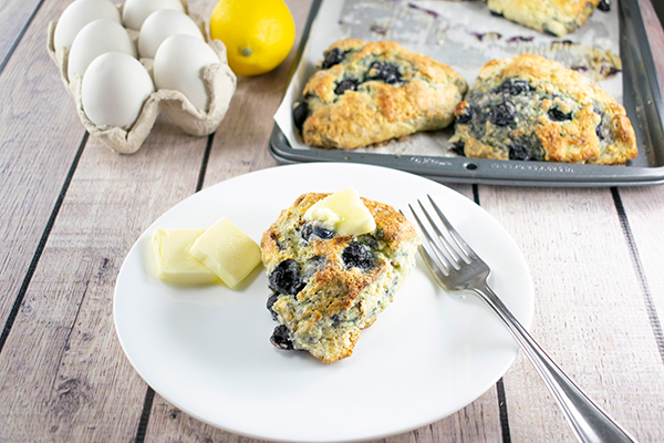Blueberry-Pecan Scones Recipe, Free Cooking and BBQ Magazine