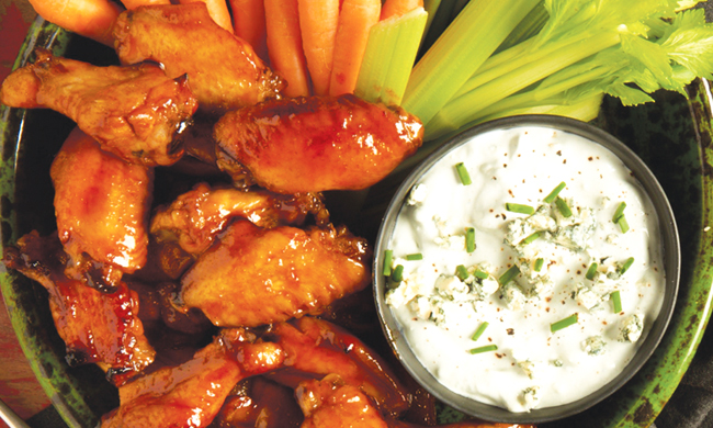 Crispy BBQ Baked Wings with Chipotle Nashville-Style Sauce Recipe