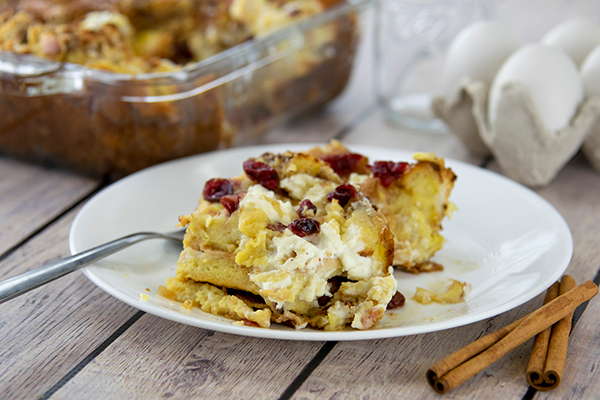 Cranberry Strata Recipe: Delicious Layered Dessert Free Cooking and BBQ Magazine