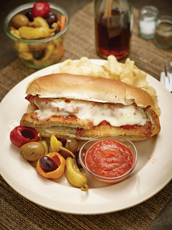 Classic Veal Parmesan Sandwiches, Recipes, Free Cooking and BBQ Magazine