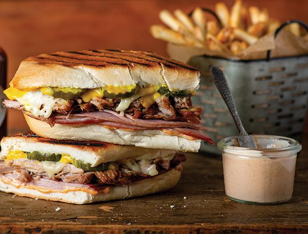 Smoky Cubano Sandwich