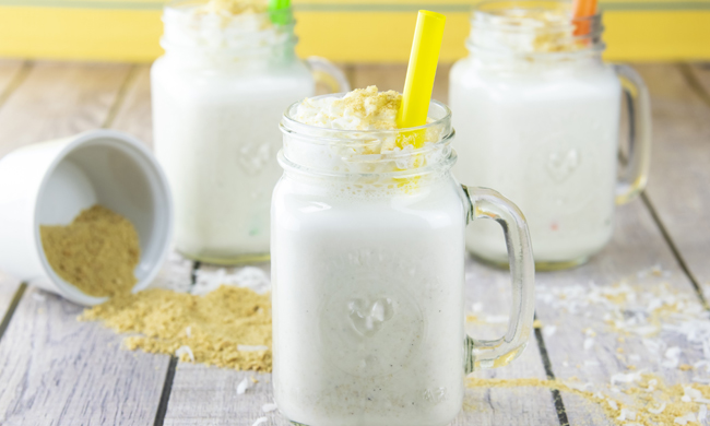 How to Make Coconut Cream Pie Milkshakes