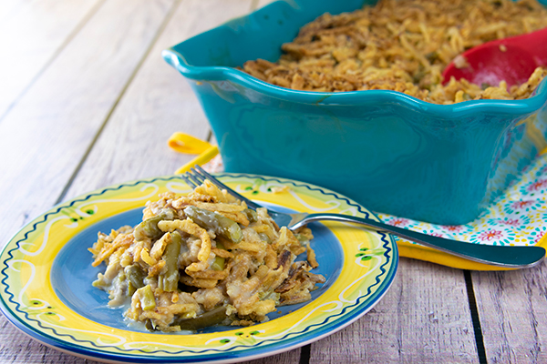 Traditional Green Bean Casserole Free Cooking and BBQ Magazine