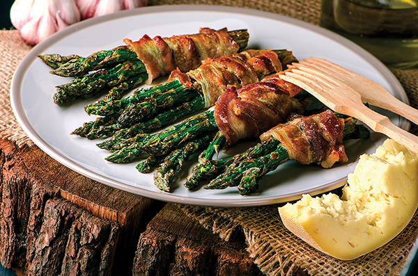 Grilled Bacon-Wrapped Asparagus