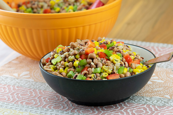 Black-Eyed Pea, Corn and Rice Salad