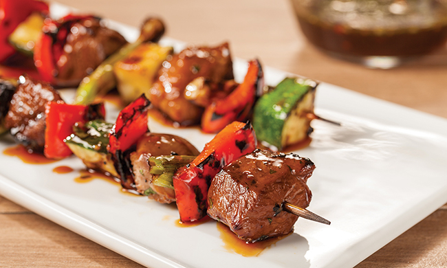 Thai Barbecue Duck Kebab Recipe
