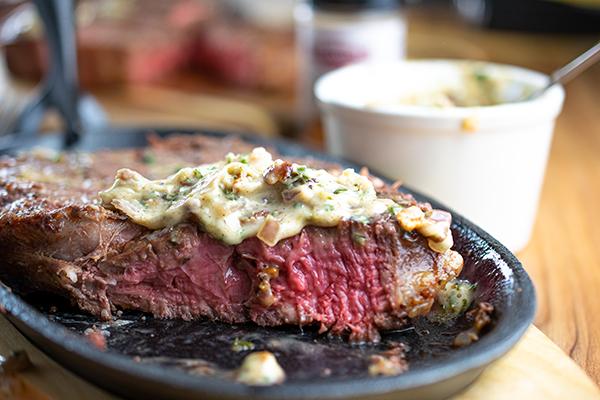 steak topper recipe,steak sauce recipe,sauce,steak, Free Cooking and BBQ Magazine