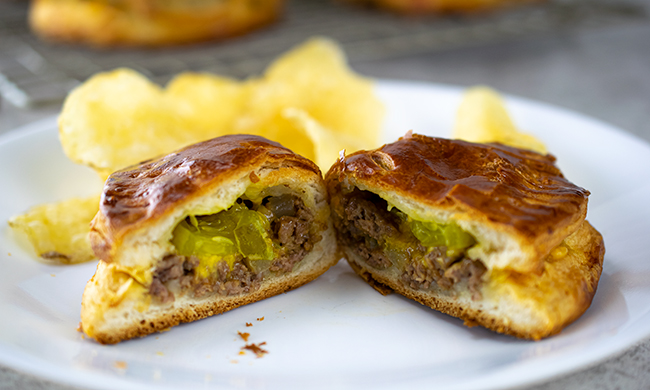 Cheese Burger Turnover – Easy Recipe for School Nights