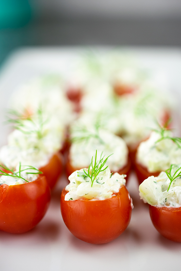 Stuffed Tomato Snack
