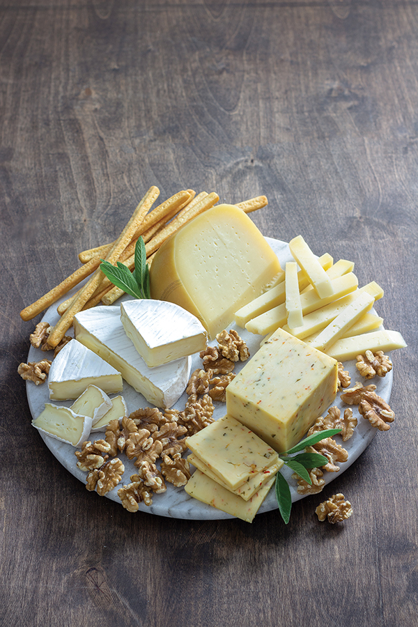 Savor the Season with Delicious, Decorative Cheese Boards
