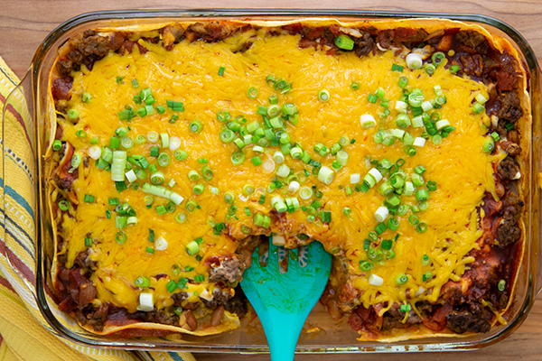 Easy Ethnic Enchiladas