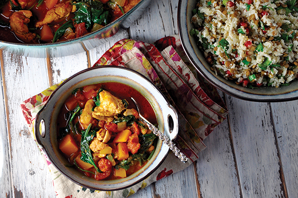 Moroccan Spiced Chicken and Squash