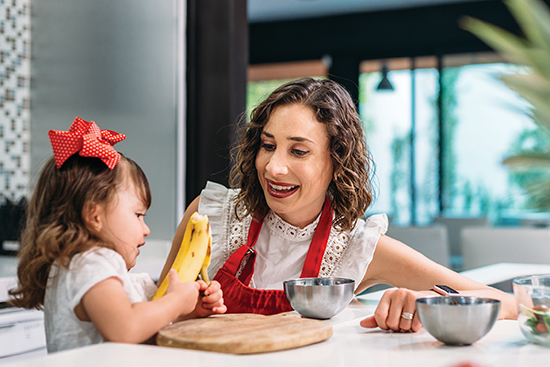 Time to Teach At-Home Nutrition