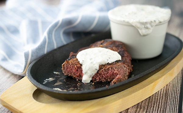 CreamyHorseradish and Chive Sauce Recipe, Free Cooking and BBQ Magazine