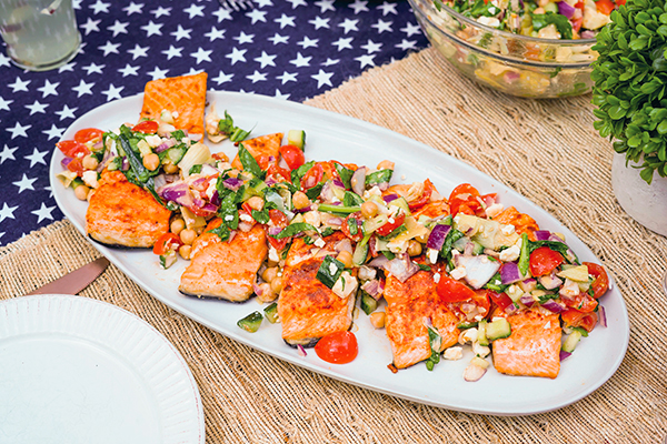 Seafood Grilled Summer Meals