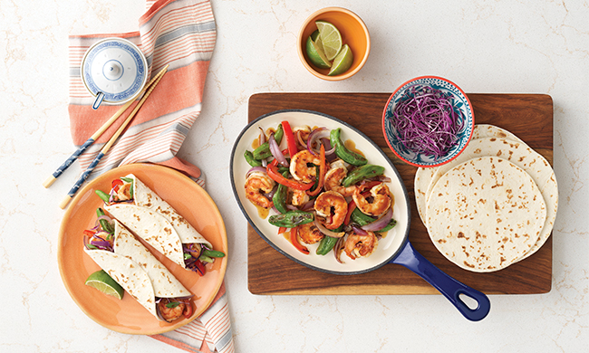 Update Summer Food Classics with Asian-inspired flair