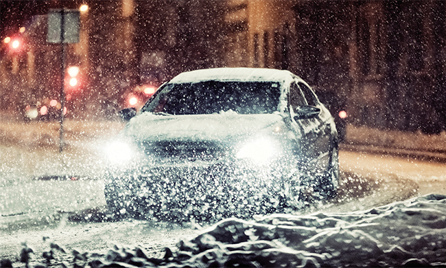 Safe Winter Driving 4 tire tips for cold weather