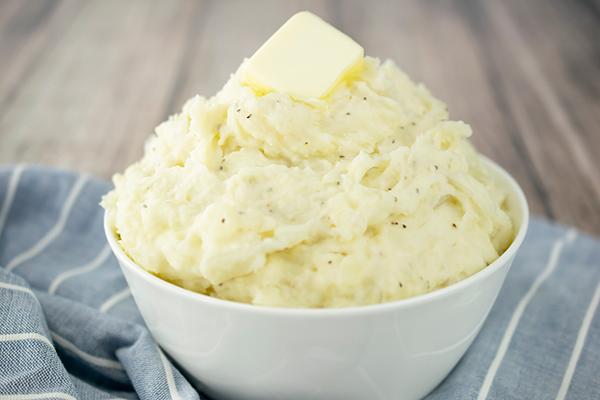 Roasted Onion and Garlic Mashed Potatoes