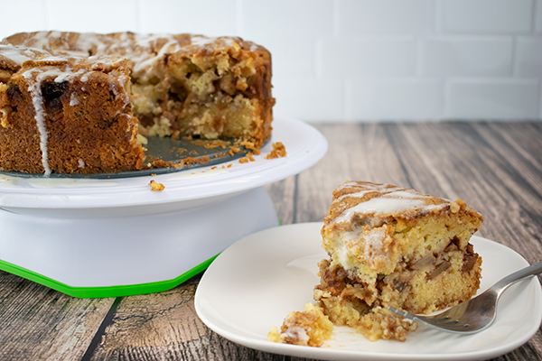 Sweet Apple Cake Sweetness