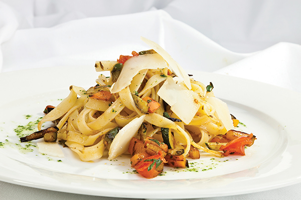 What's a better combination than pasta, cheese and fresh vegetables?