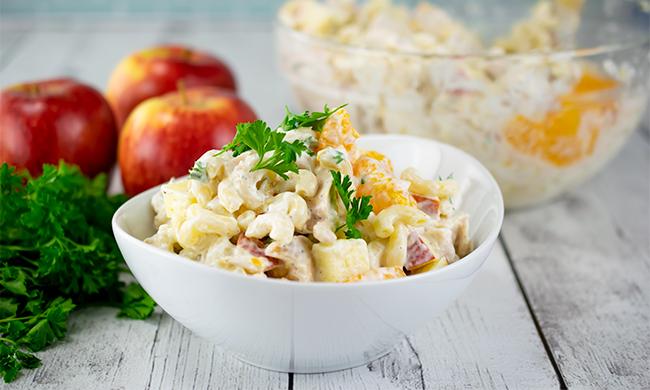Master Summer with an Apple and Mandarin Macaroni Salad 6/29/21