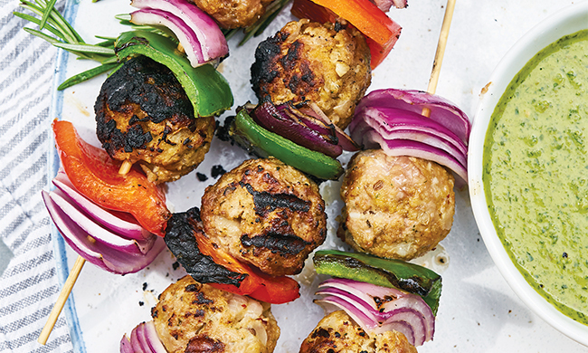 Get Outside with Fresh Grilled Flavors