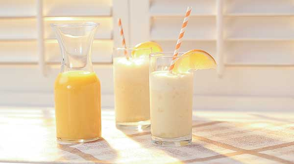 Orange Cream Smoothies