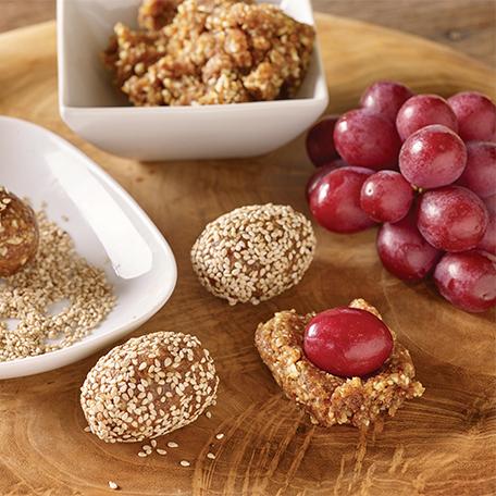 Opte por las uvas como una opción saludable